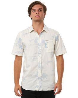 BLUE MENS CLOTHING CAPTAIN FIN CO. SHIRTS - CS181020BLU