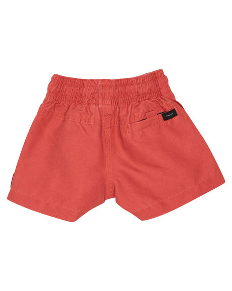 WASHED RED KIDS BOYS RIP CURL BOARDSHORTS - OBOCY99199