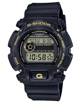 BLACK  GOLD MENS ACCESSORIES G SHOCK WATCHES - DW9052GBX-1A9BKGLD