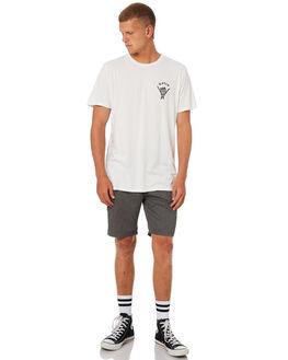 WHITE MENS CLOTHING KATIN TEES - TSEAS01WHT