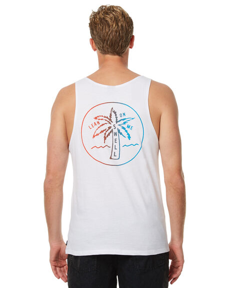WHITE MENS CLOTHING SWELL SINGLETS - S5174275WHT