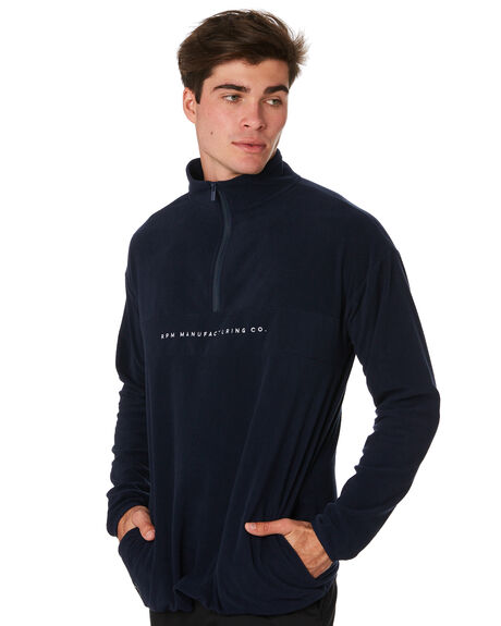 NAVY MENS CLOTHING RPM JUMPERS - 9PMT12ANVY