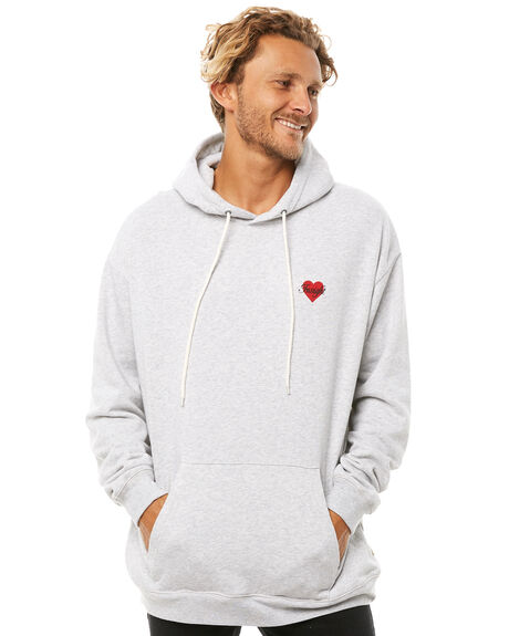 LIGHT GREY MARLE OUTLET MENS INSIGHT JUMPERS - 5000000948LGM
