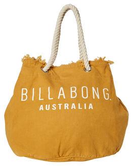 HONEY GOLD WOMENS ACCESSORIES BILLABONG BAGS + BACKPACKS - 6681102AGLD