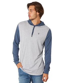 SMOKEY BLUE MENS CLOTHING VOLCOM TEES - A5111700SMB
