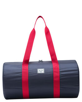 NAVY RED MENS ACCESSORIES HERSCHEL SUPPLY CO BAGS + BACKPACKS - 10615-01410-OSNVR