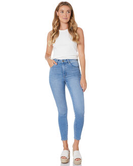 OCEAN BLUE WOMENS CLOTHING ROLLAS JEANS - 13288-1327
