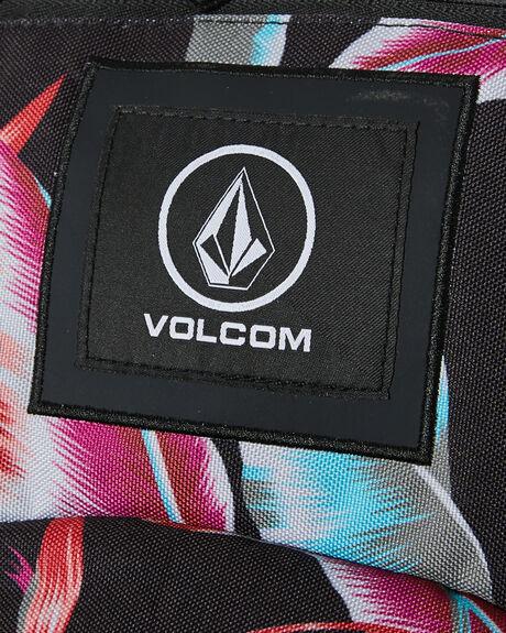BLACK COMBO WOMENS ACCESSORIES VOLCOM BAGS + BACKPACKS - E6442075BLC