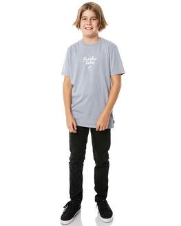 ARCTIC BLUE KIDS BOYS SWELL TEES - S3184004ARTBL
