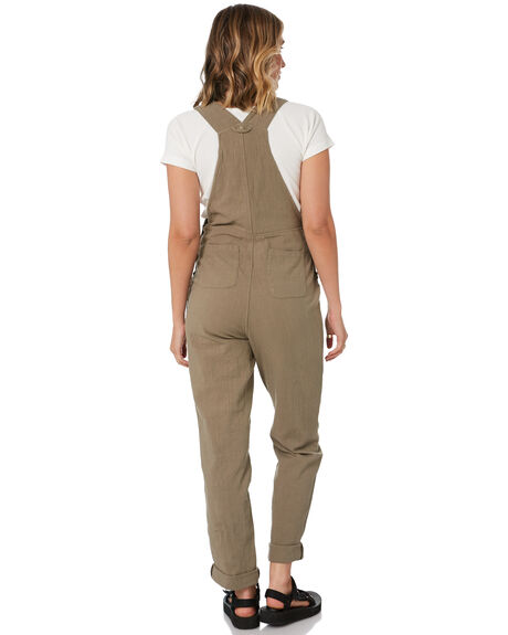 PRAIRIE OUTLET WOMENS RUSTY PLAYSUITS + OVERALLS - MCL0339-RRA