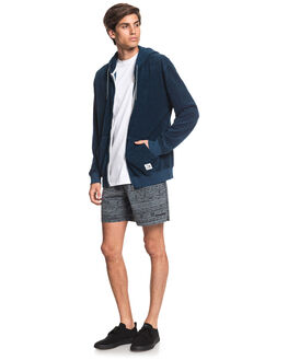 MAJOLICA BLUE MENS CLOTHING QUIKSILVER JUMPERS - EQYFT04098-BSM0