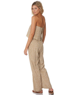 GOLD WOMENS CLOTHING RIP CURL PLAYSUITS + OVERALLS - GDRCI90146