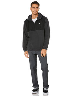 BLACK MENS CLOTHING VOLCOM JUMPERS - A48418T0BLC