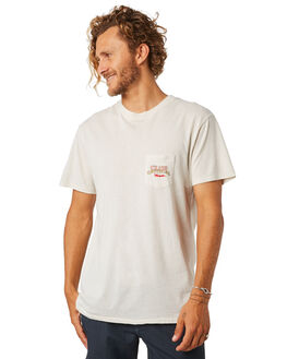 DIRTY WHITE MENS CLOTHING THE CRITICAL SLIDE SOCIETY TEES - TE1861DWHT