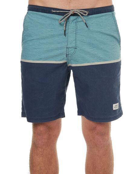 NAVY MENS CLOTHING KATIN BOARDSHORTS - TRIDESS17NVY