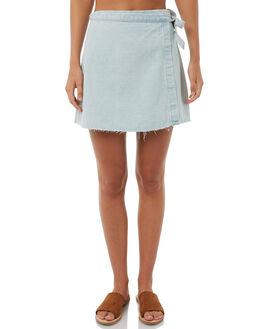 BLEACH BUM WOMENS CLOTHING RVCA SKIRTS - R283832BLCBM