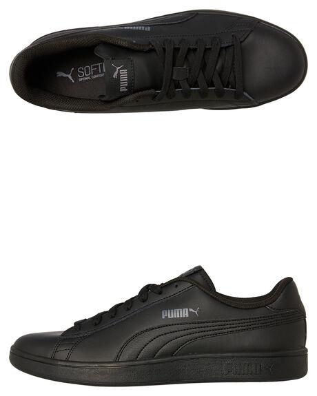 BLACK BLACK MENS FOOTWEAR PUMA SNEAKERS - 36521506BLKBK