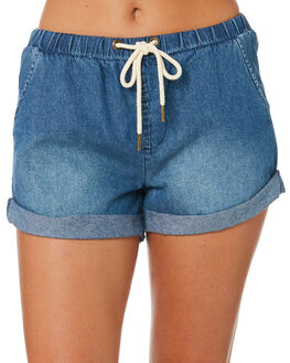 GRIND BLUE WOMENS CLOTHING RUSTY SHORTS - WKL0676GDB