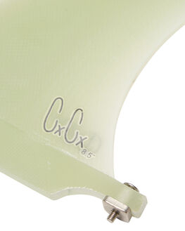 CLEAR BOARDSPORTS SURF CAPTAIN FIN CO. FINS - CFF0511508CLR