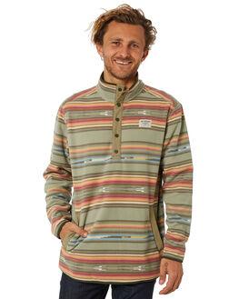 ALOE BAJA STRIPE MENS CLOTHING BURTON JUMPERS - 173501961