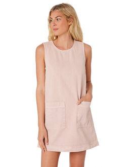 DUSKY PINK WOMENS CLOTHING HUFFER DRESSES - WDR83S6303-359