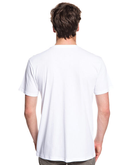 WHITE MENS CLOTHING QUIKSILVER TEES - EQYZT05114WBB0