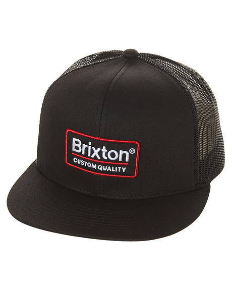 BLACK MENS ACCESSORIES BRIXTON HEADWEAR - 00611BLK