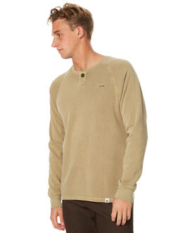 SAND MENS CLOTHING OURCASTE JUMPERS - F1027SND