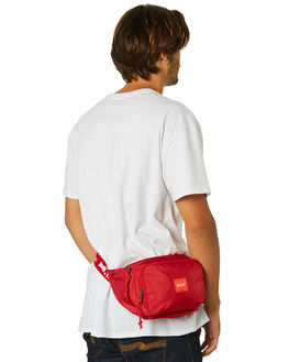 RED MENS ACCESSORIES HUF BAGS + BACKPACKS - AC00238RED