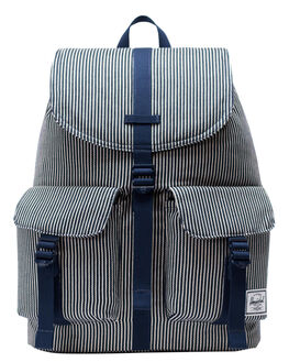 HICKORY STRIPE WOMENS ACCESSORIES HERSCHEL SUPPLY CO BAGS + BACKPACKS - 10233-02531-OSSTR