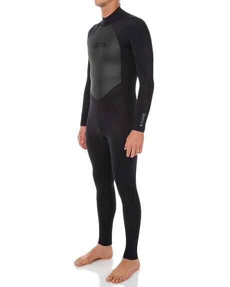 BLACK SURF WETSUITS XCEL STEAMERS - MX32SLX6BLK