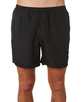 BLACK MENS CLOTHING DEPACTUS BOARDSHORTS - D5201234BLACK