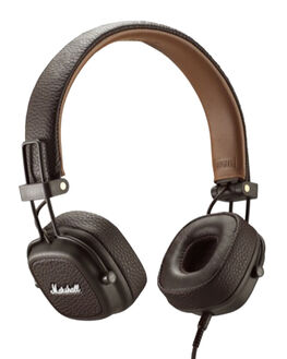 BROWN MENS ACCESSORIES MARSHALL AUDIO + CAMERAS - 154374BRN