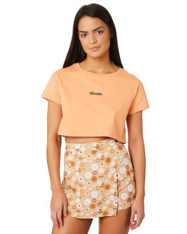 COPPER TAN WOMENS CLOTHING AFENDS TEES - W184004COPP