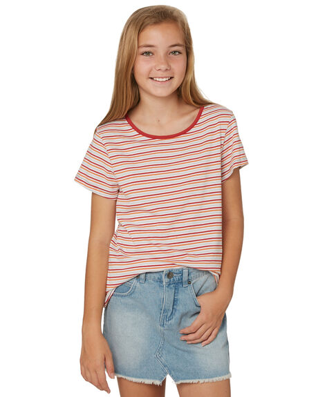 TAN KIDS GIRLS SWELL TOPS - S6188003TAN