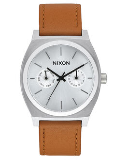 SILVER SUNRAY SADDLE MENS ACCESSORIES NIXON WATCHES - A9272310