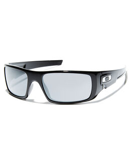 POLISHED BLACK MENS ACCESSORIES OAKLEY SUNGLASSES - OO9239-01PBLK