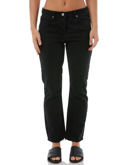 BLACK WOMENS CLOTHING CAMILLA AND MARC JEANS - CMD8147BLK