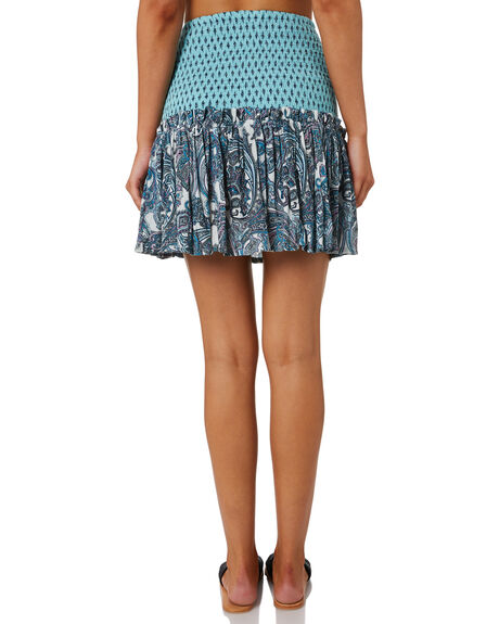 BLUE WOMENS CLOTHING TIGERLILY SKIRTS - T392289BLUE