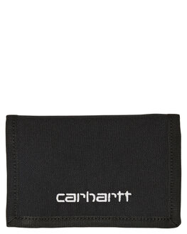 BLACK WHITE MENS ACCESSORIES CARHARTT WALLETS - I02541189