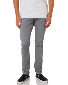 SPRING GREY MENS CLOTHING DR DENIM PANTS - 1310101-163