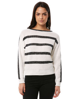 MARSHMALLOW WOMENS CLOTHING ROXY KNITS + CARDIGANS - ERJSW03243WBT0
