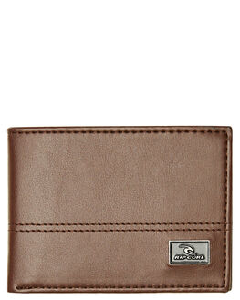 BROWN MENS ACCESSORIES RIP CURL WALLETS - BWUJU20009