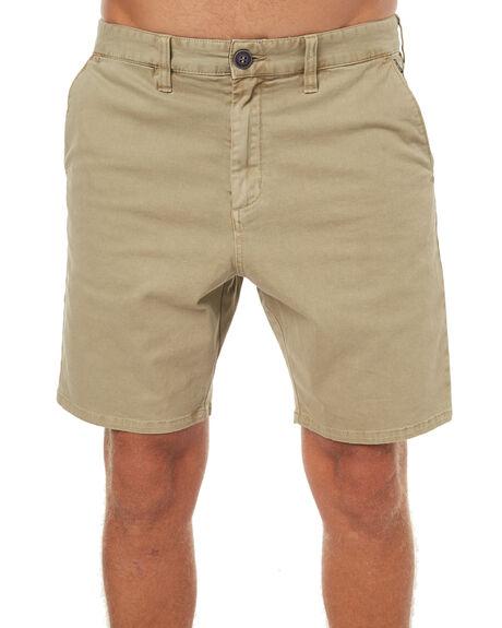 KHAKI MENS CLOTHING BILLABONG SHORTS - 9575707KHA