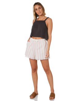 STRIPE WOMENS CLOTHING NUDE LUCY SHORTS - NU23791STRP