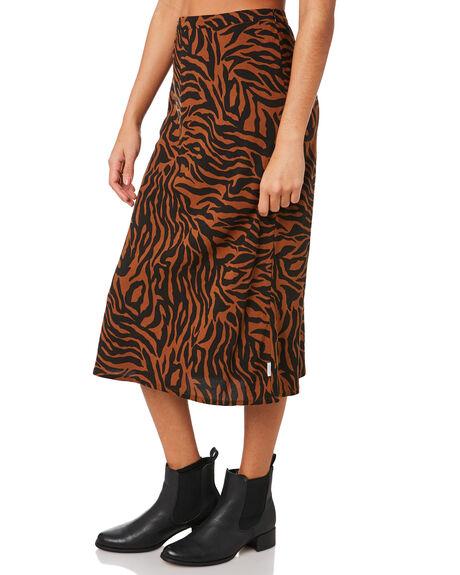 ZEBRA WOMENS CLOTHING BRIXTON SKIRTS - 04153ZEBRA