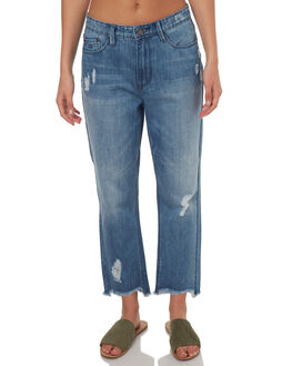 BLUE WOMENS CLOTHING RES DENIM JEANS - RW3013TWO