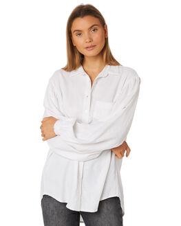 WHITE WOMENS CLOTHING RUE STIIC FASHION TOPS - SA19-39-W2