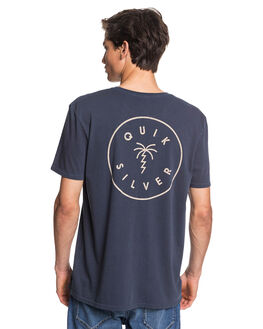 BLUE NIGHTS MENS CLOTHING QUIKSILVER TEES - EQYZT05797-BST0