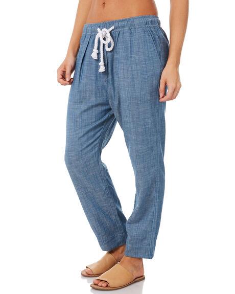 CHAMBRAY BLUE WOMENS CLOTHING ELWOOD PANTS - W83605CHBLU